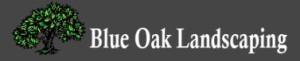 Blue Oak Landscaping Logo